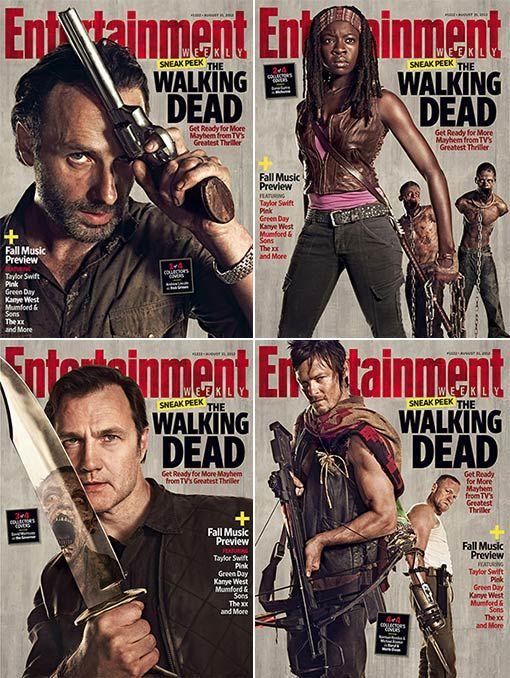 <strong><em>The Walking Dead</em></strong> EW Season 3 Covers