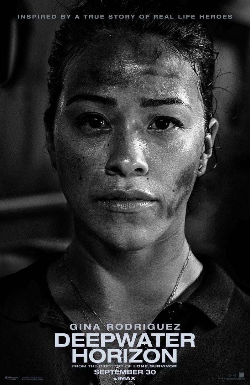 <strong><em>Deepwater Horizon</em></strong> Gina Rodriguez Poster