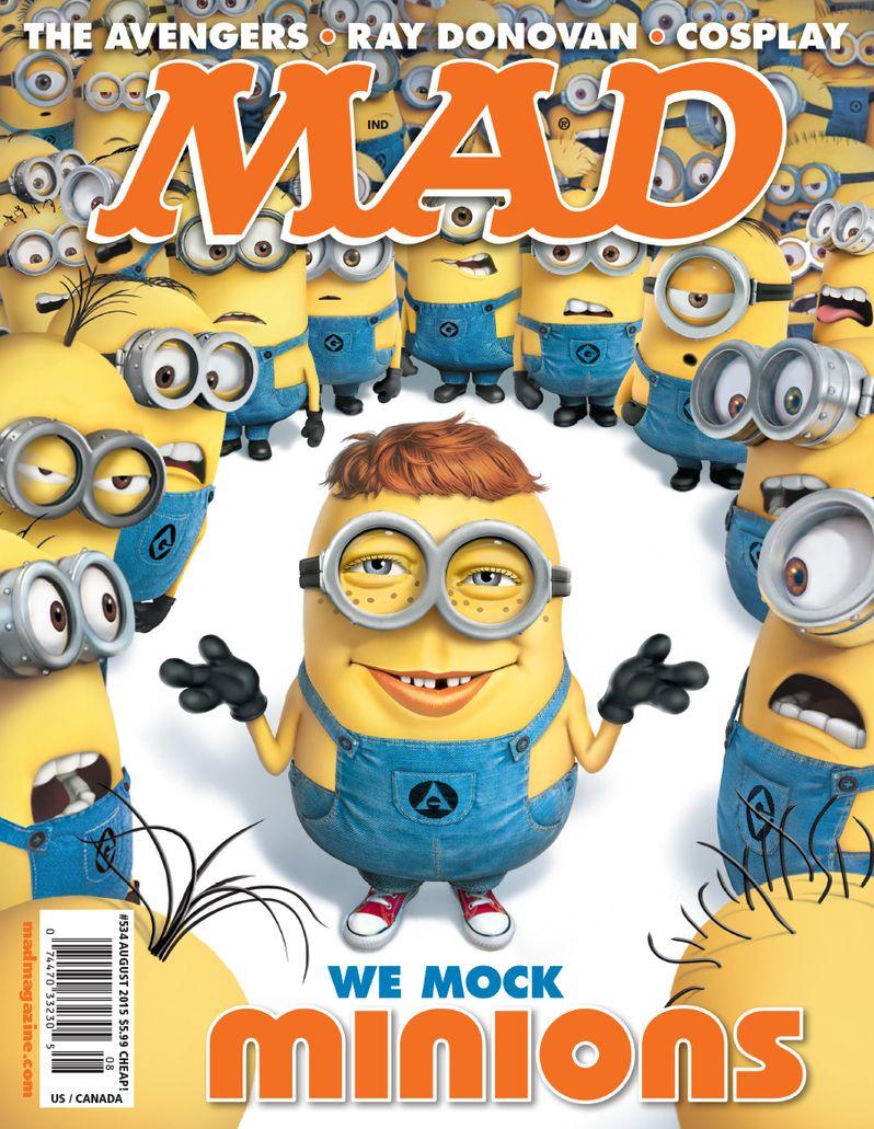 <strong><em>Minions</em></strong> Mad Magazine Cover