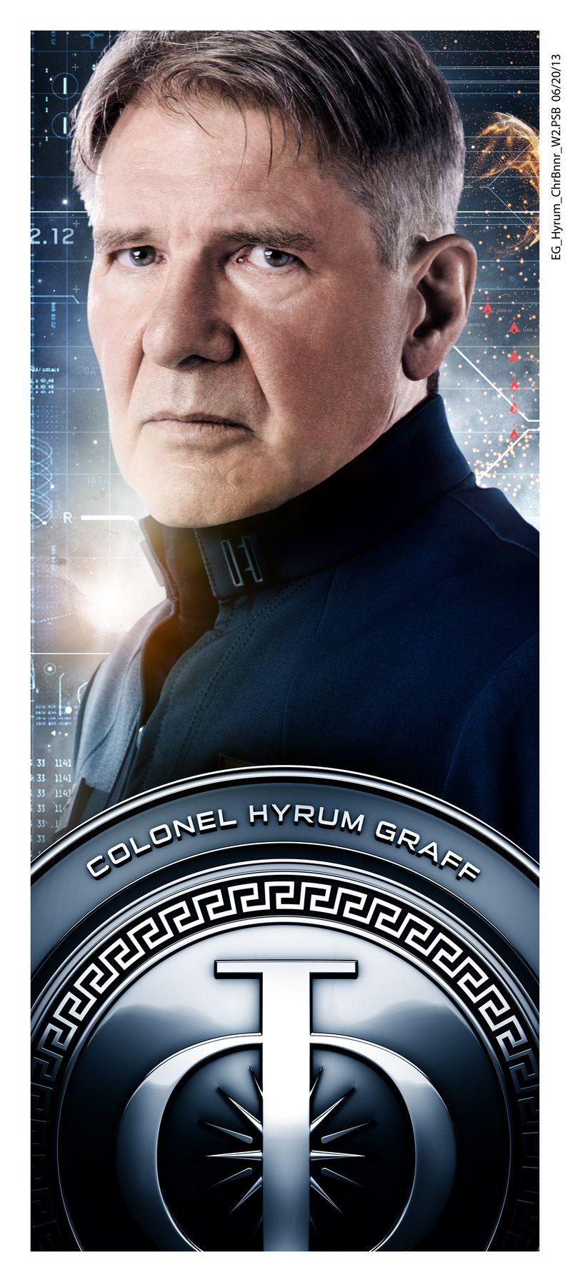 <strong><em>Ender's Game</em></strong> Harrison Ford Character Poster