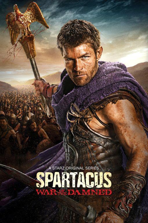 <strong><em>Spartacus</em></strong>: War of the Damned Promo Art