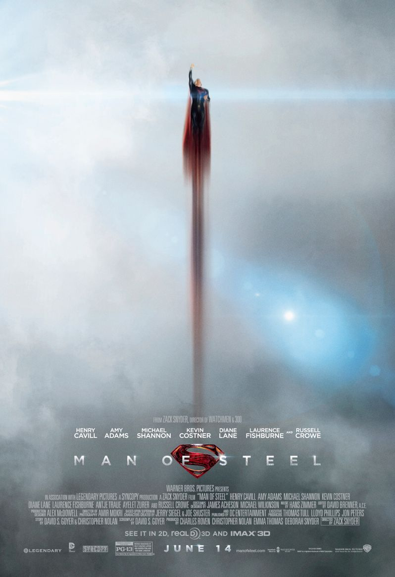 Man Of Steel Poster