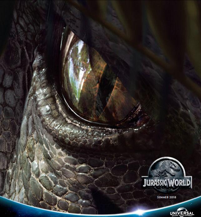 Jurassic World 2 Indominus Rex Art