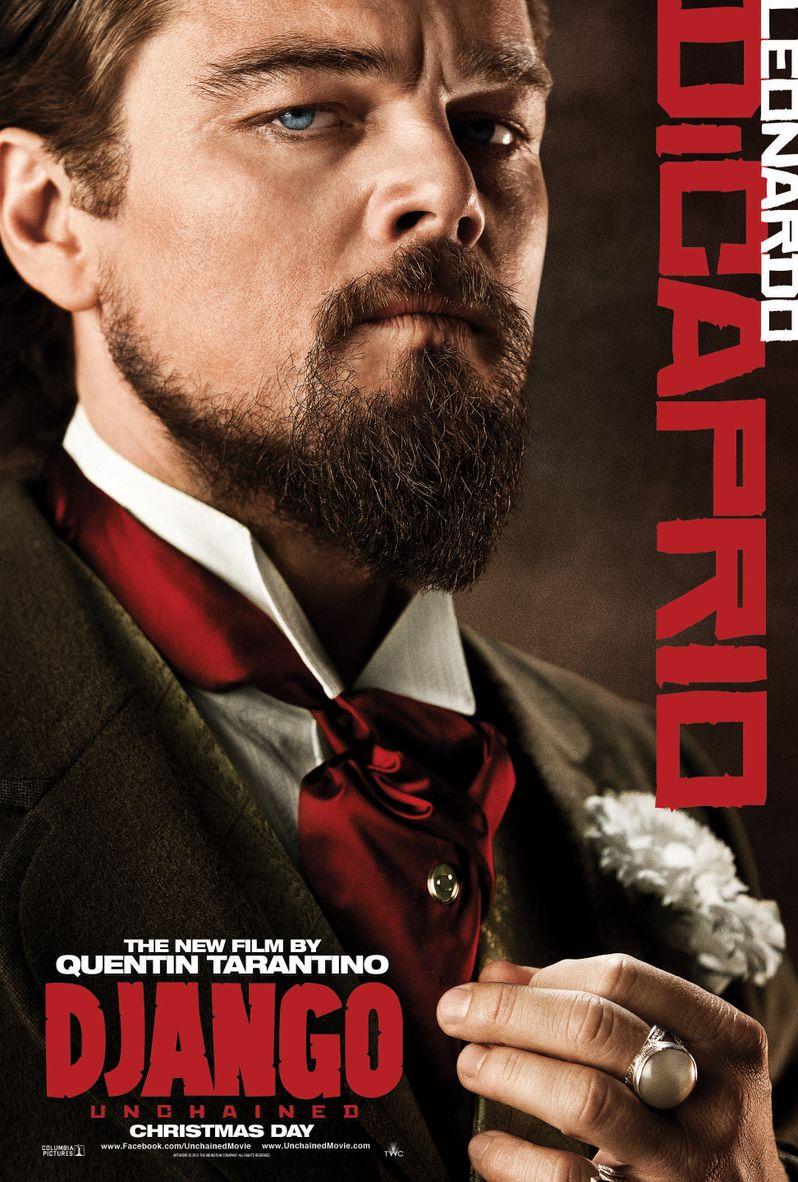 <strong><em>Django Unchained</em></strong> Leonardo DiCaprio Poster