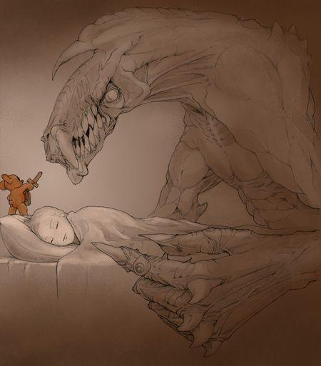 <strong><em>Teddy Bear</em></strong> illustration