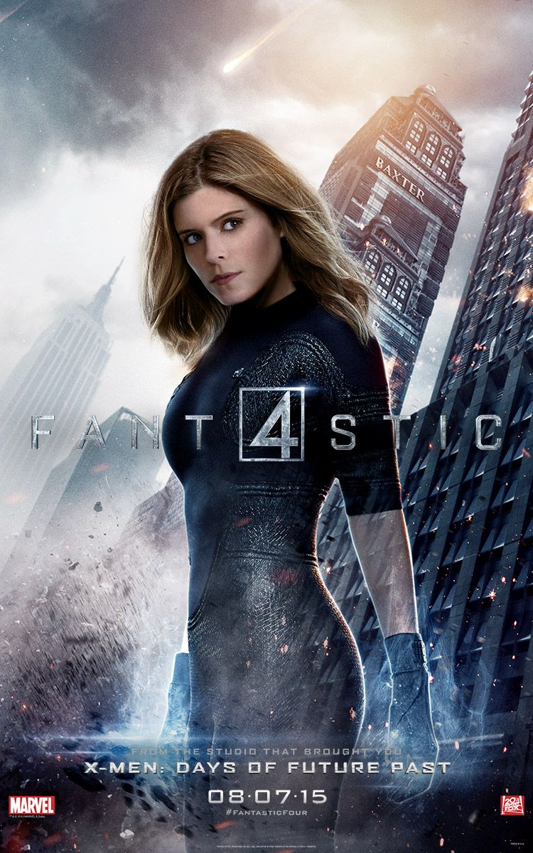 <strong><em>Fantastic Four</em></strong> The Invisible Woman Character Poster