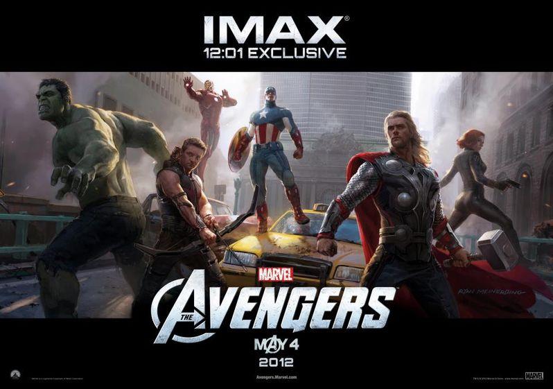 IMAX Midnight <strong><em>Marvel's The Avengers</em></strong> Poster