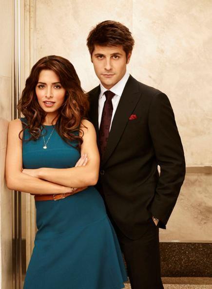 Sarah Shahi and Ryan Johnson in <strong><em>Fairly Legal</em></strong> Season 2