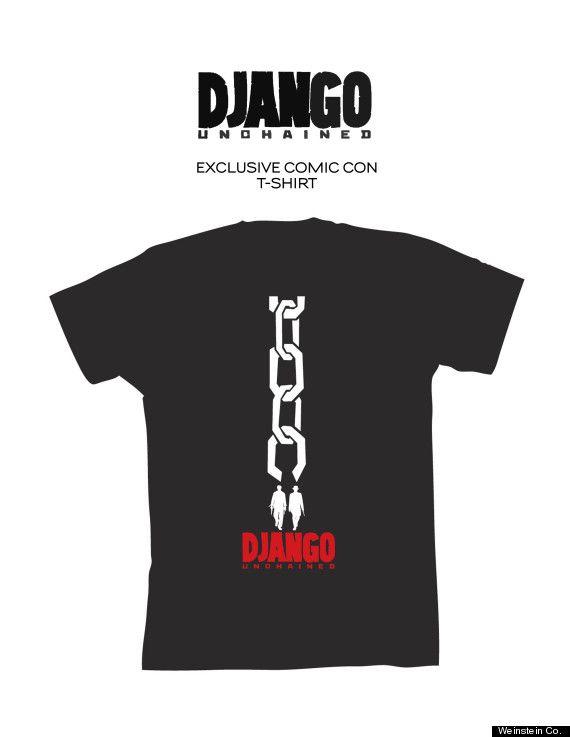 <strong><em>Django Unchained</em></strong> Comic-Con 2012 T-Shirt Photo #1