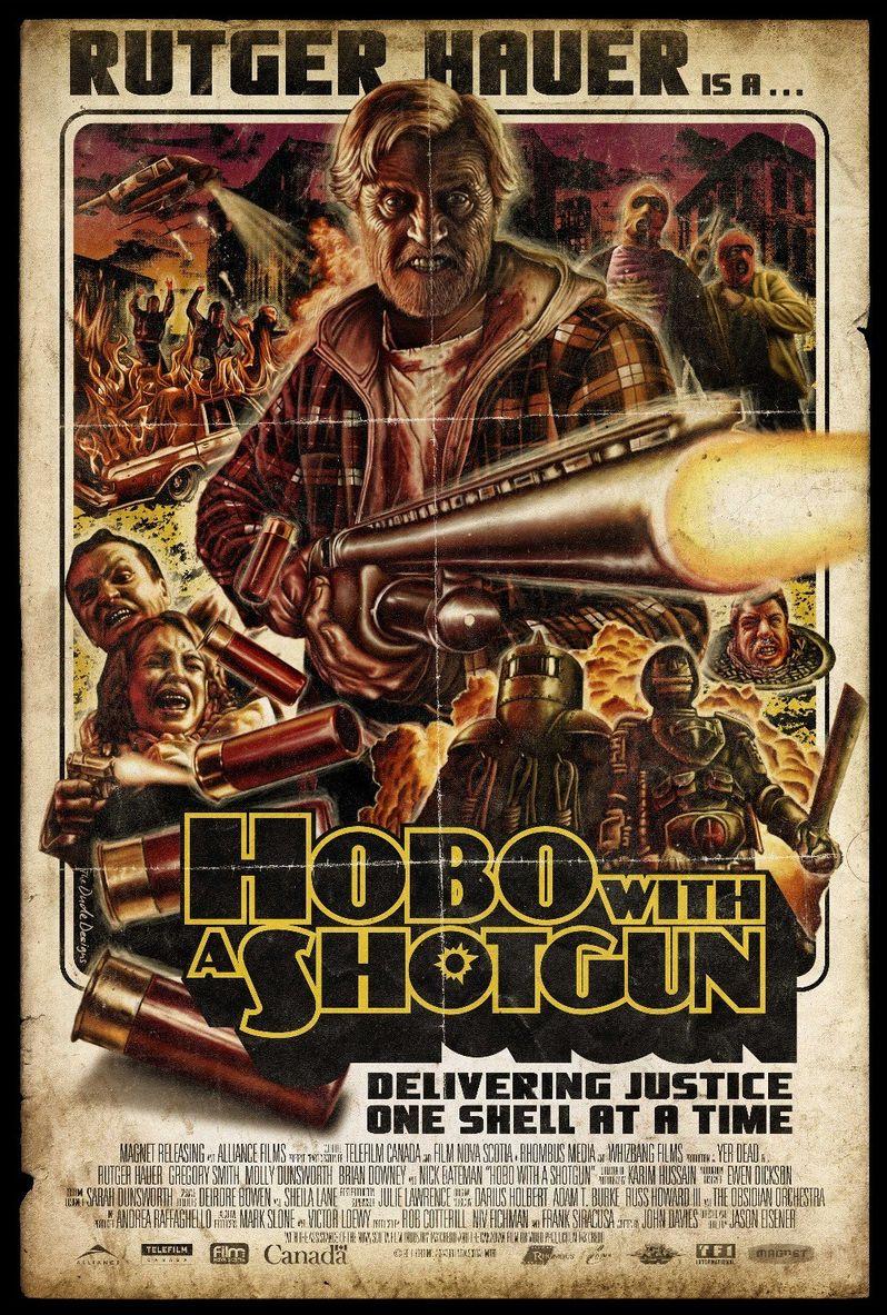 <strong><em>Hobo with a Shotgun</em></strong> Poster #2