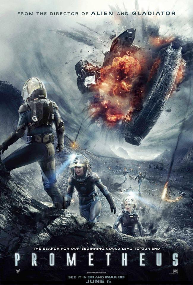 <strong><em>Prometheus</em></strong> Poster