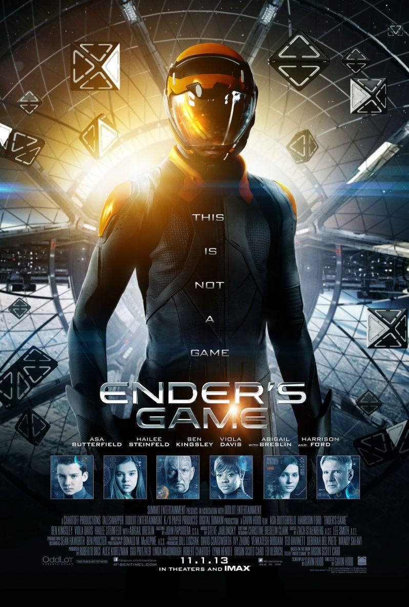 <strong><em>Ender's Game</em></strong> Final Poster
