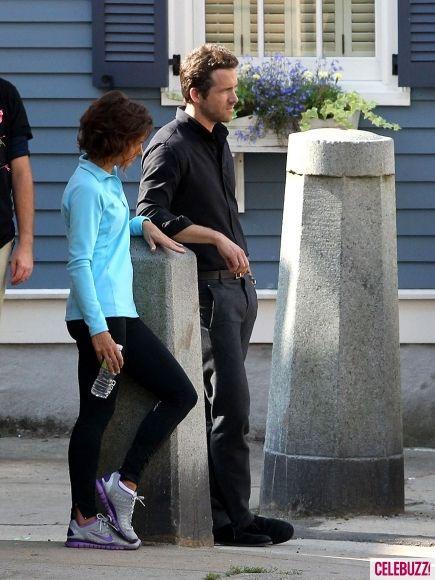 Ryan Reynolds on the <strong><em>R.I.P.D.</em></strong> Boston Set #2