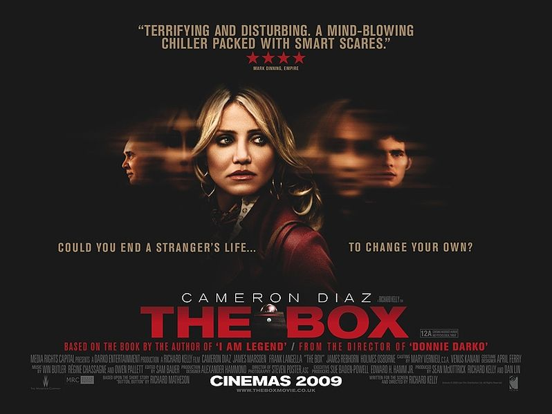 <strong><em>The Box</em></strong> One-Sheet Poster