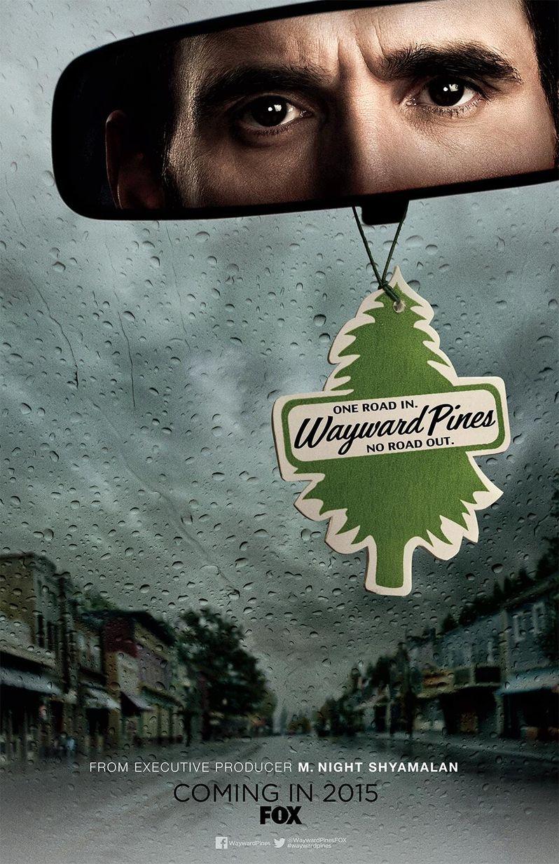 Wayward Pines Comic-Con Poster
