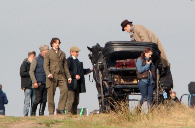 Sherlock Holmes 2 On Set photo 2