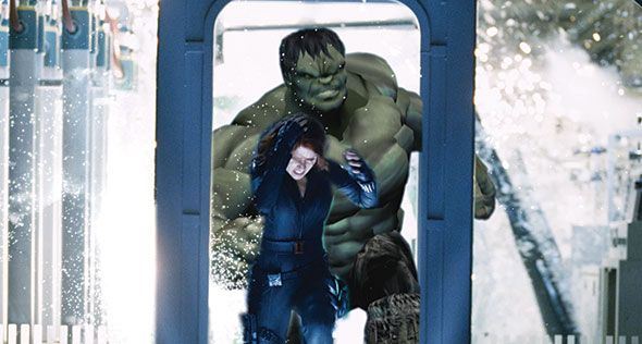 The Avengers special FX photo 1