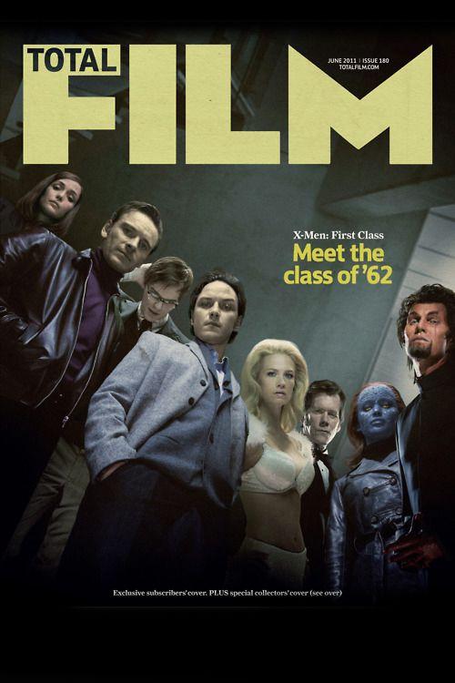 X-Men First Class Total Film Magazine Cover