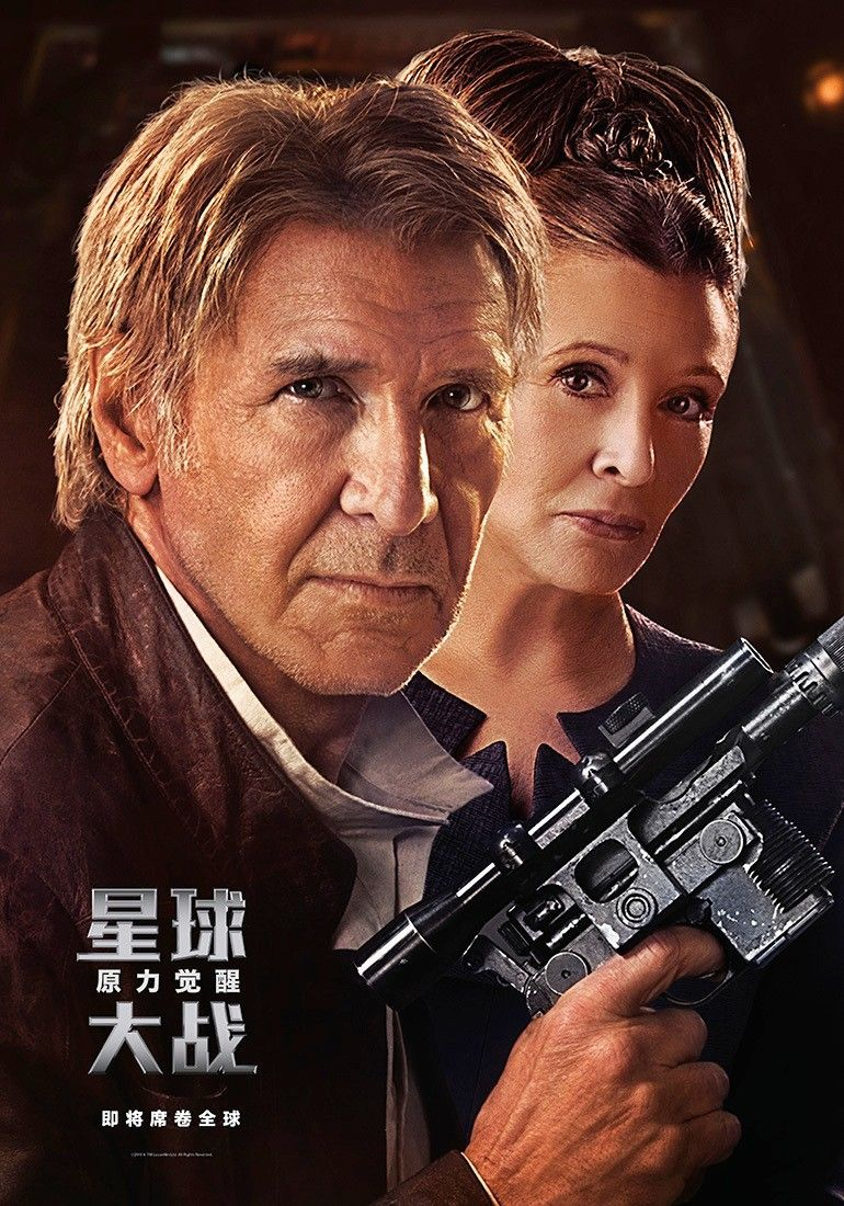 <strong><em>Star Wars: The Force Awakens</em></strong> Poster 3