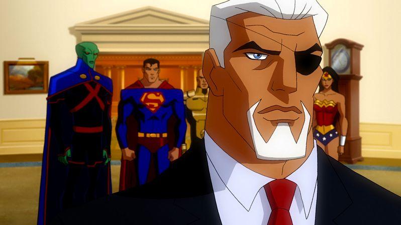 Bruce Davison as President Wilson