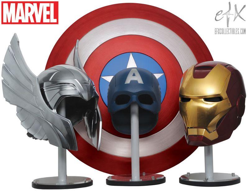 official Avengers replicas from eFX