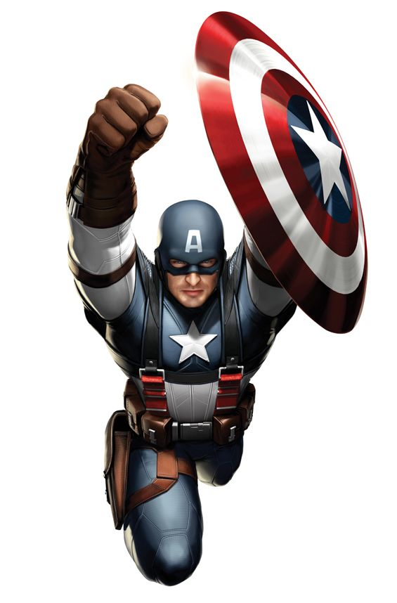 Captain America Concept Art #2