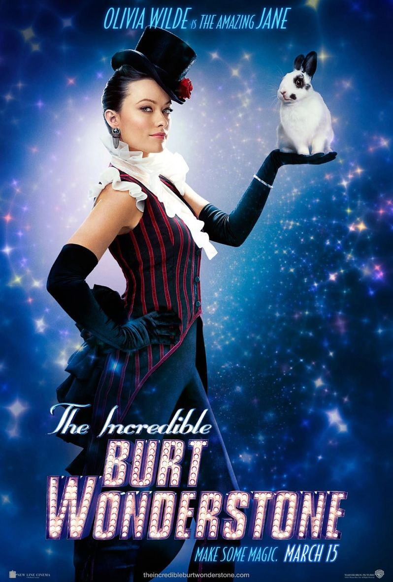 <strong><em>The Incredible Burt Wonderstone</em></strong> Olivia Wilde Character Poster