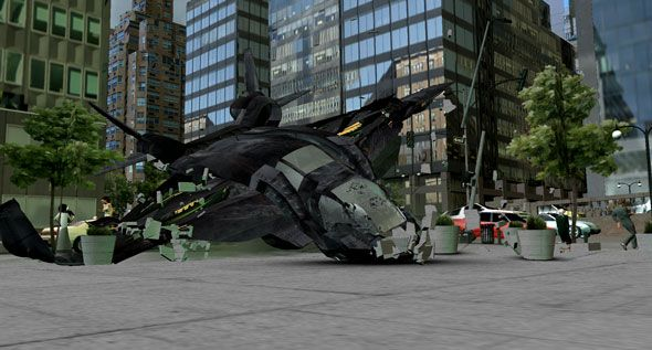 The Avengers special FX photo 3