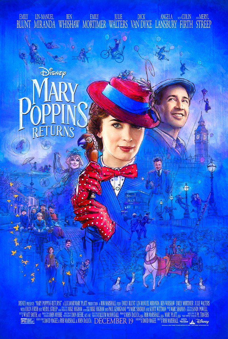 <strong><em>Mary Poppins Returns</em></strong> poster