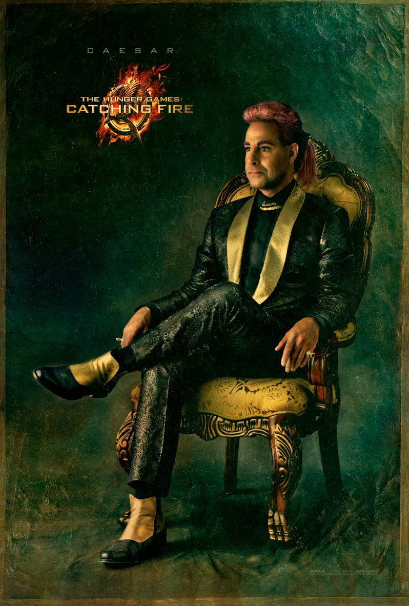 <strong><em>The Hunger Games: Catching Fire</em></strong> Caesar Flickerman Capitol Portrait
