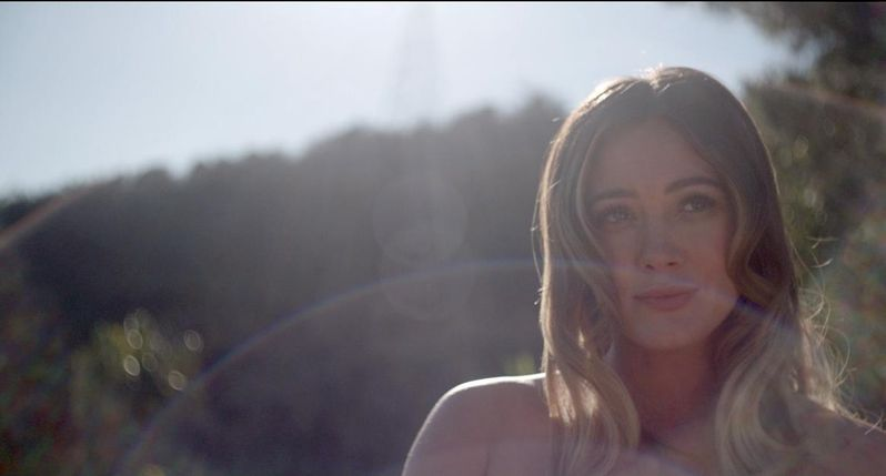 <strong><em>The Haunting of Sharon Tate</em></strong> Hilary Duff photo