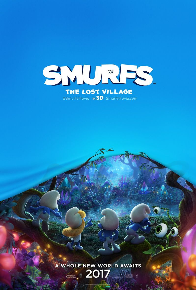 Smurfs Lost Village Poster