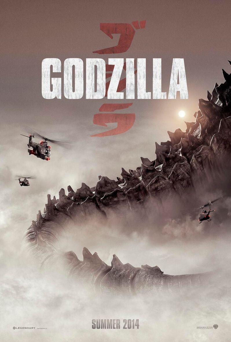<strong><em>Godzilla</em></strong> Comic-Con 2013 poster