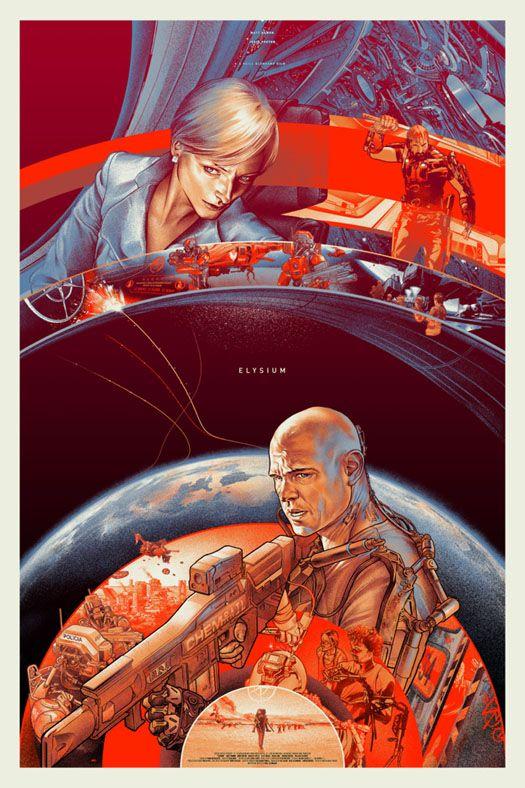 <strong><em>Elysium</em></strong> Mondo Poster
