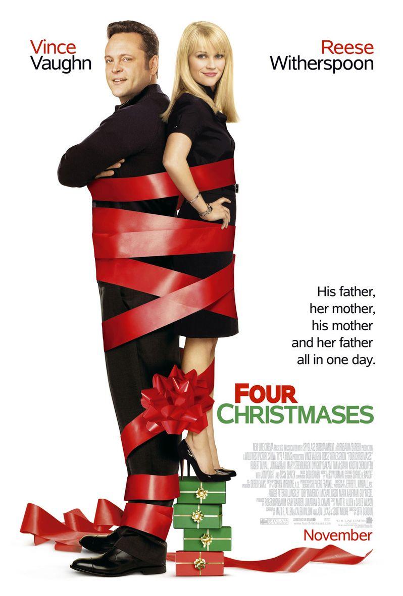 <strong><em>Four Christmases</em></strong> Poster