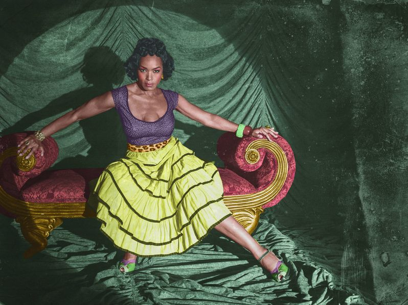 <strong><em>American Horror Story</em></strong> Freak Show Angela Bassett Character Photo