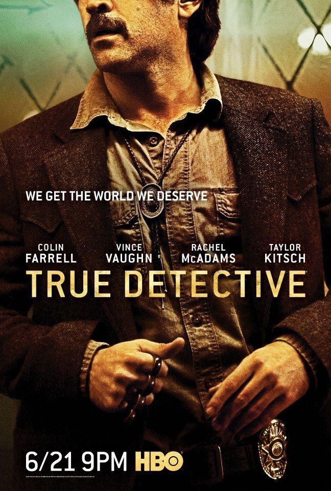 <strong><em>True Detective</em></strong> Season 2 Colin Farrell Character Poster