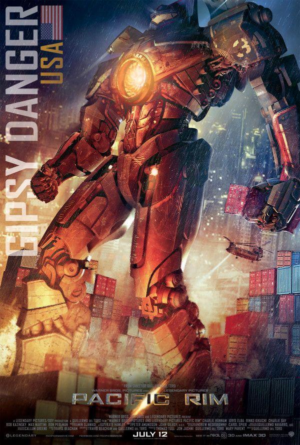 <strong><em>Pacific Rim</em></strong> Gipsy Danger Jaeger Poster