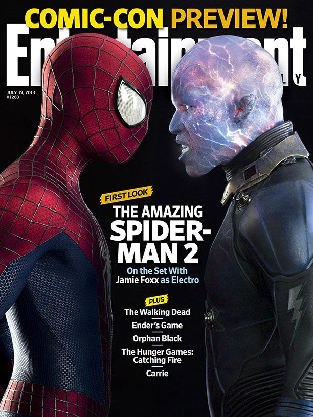<strong><em>The Amazing Spider-Man 2</em></strong> Entertainment Weekly Cover