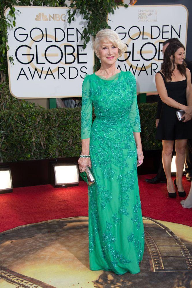 Helen Mirren <strong><em>Golden Globes</em></strong>