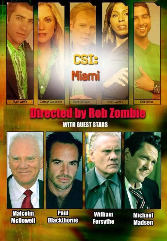 <strong><em>CSI: Miami</em></strong> Rob Zombie Episode