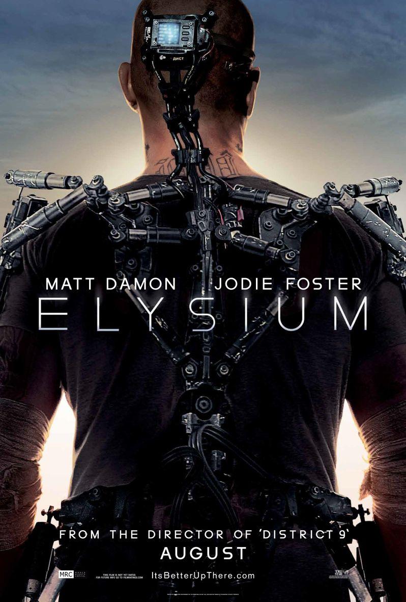 <strong><em>Elysium</em></strong> Poster