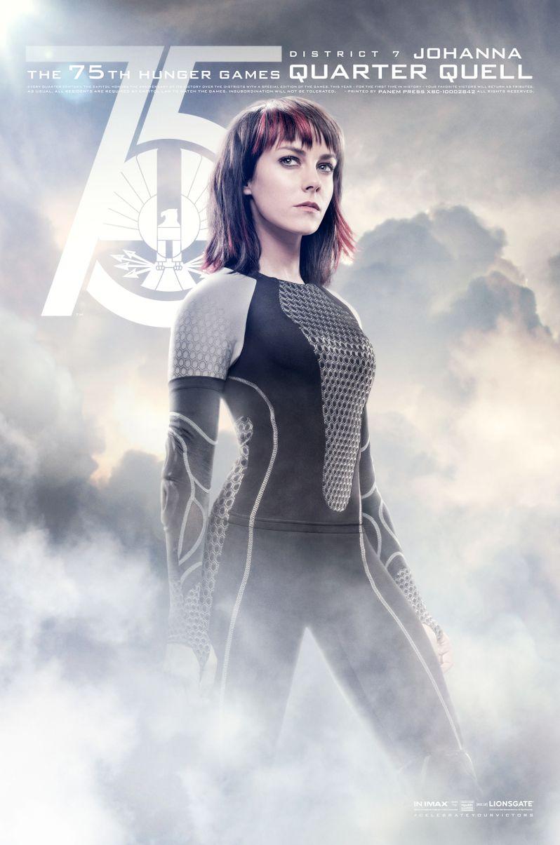 The Hunger Games Catching Fire Johanna Mason Poster