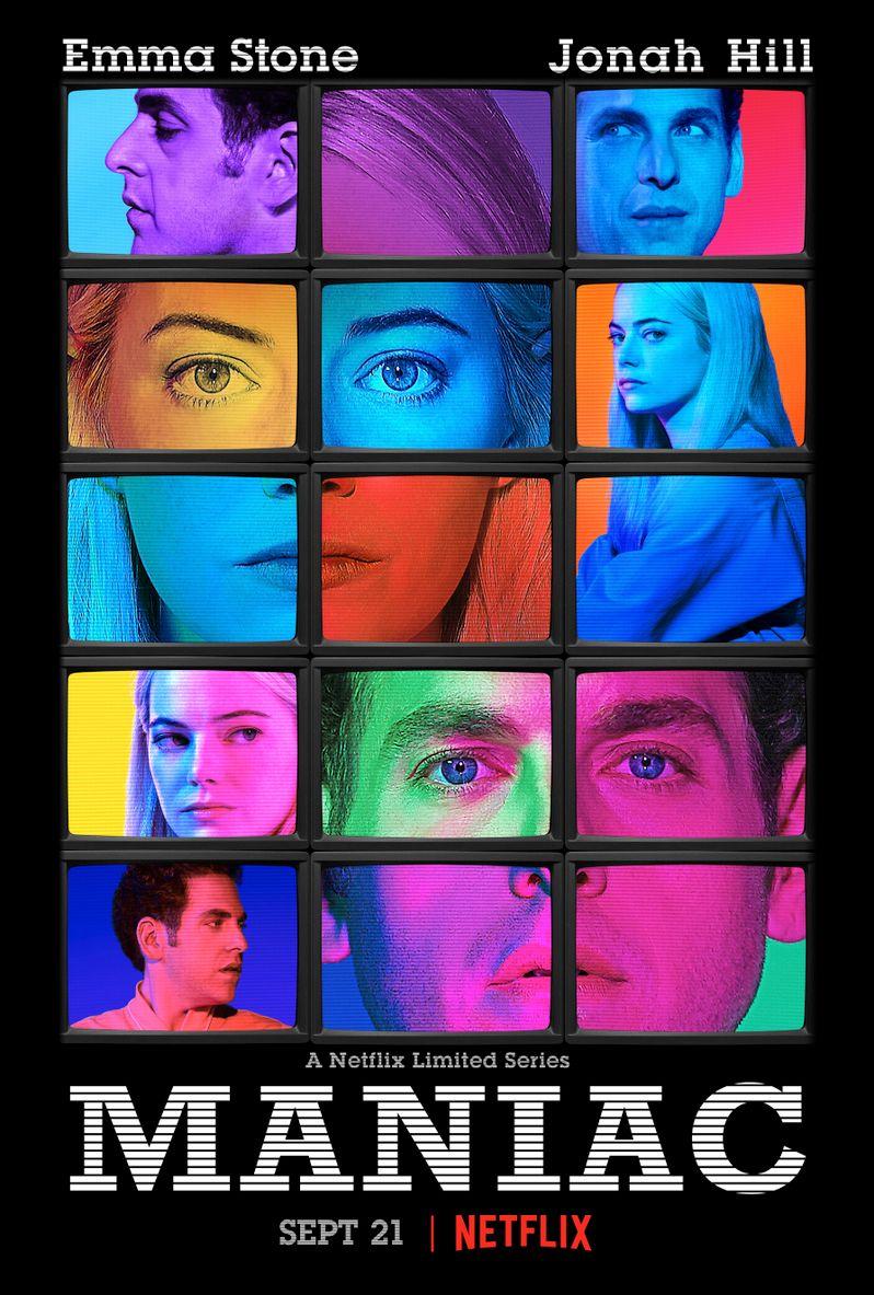 <strong><em>Maniac</em></strong> Netflix Poster