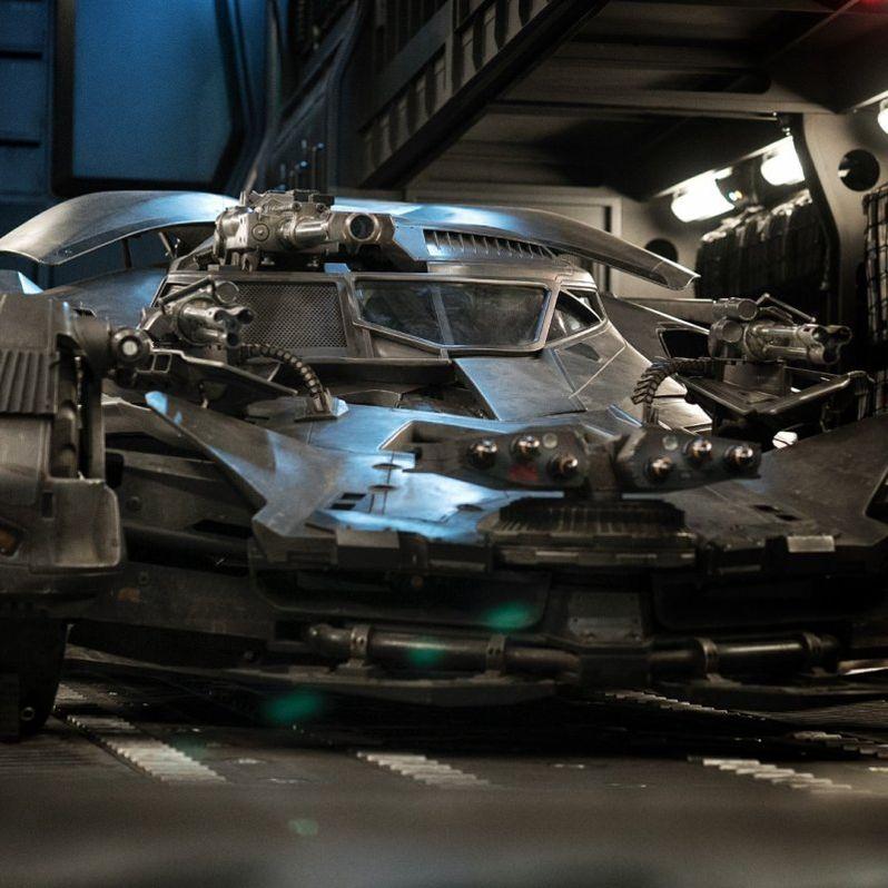 <strong><em>Justice League</em></strong> Batmobile photo