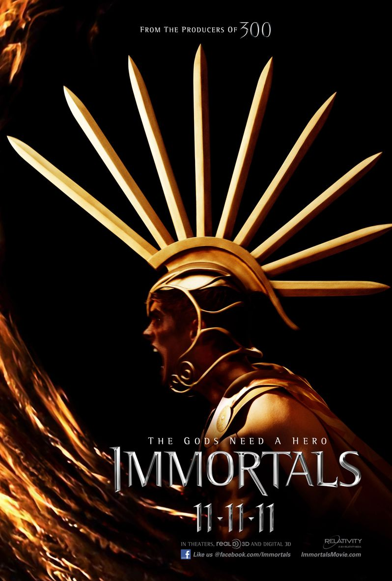 <strong><em>Immortals</em></strong> Character Poster #1