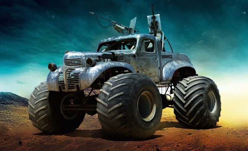 <strong><em>Mad Max: Fury Road</em></strong>: The Big Foot Photo