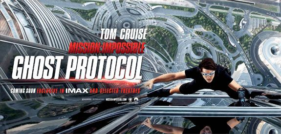 <strong><em>Mission: Impossible Ghost Protocol</em></strong> Poster #1