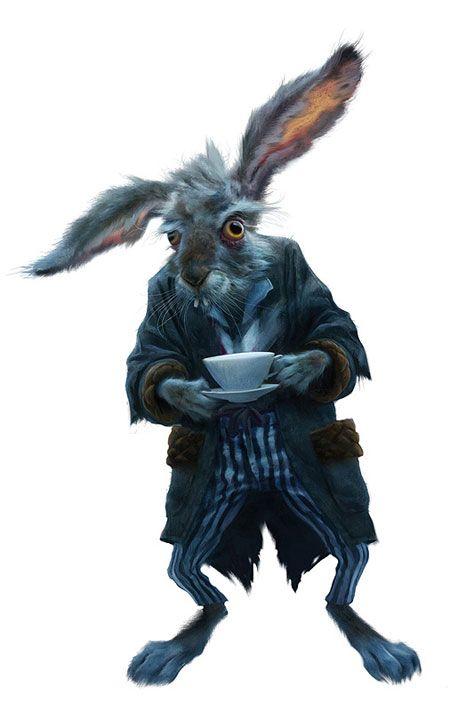 <strong><em>Alice in Wonderland</em></strong> concept art
