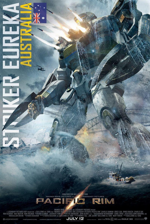 <strong><em>Pacific Rim</em></strong> Striker Eureka Jaeger Poster